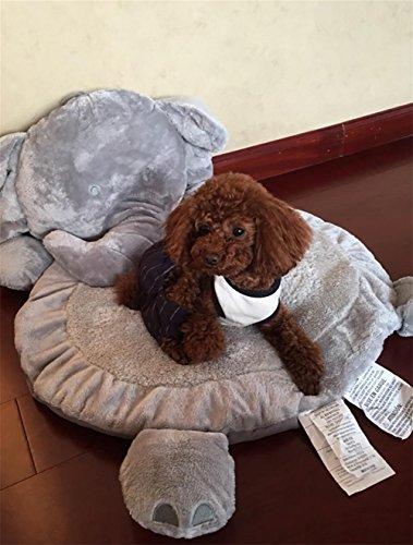 DAN Haustier Katzen und Hunde Nest Fuchs Fuchs Elefanten Plüsch Matten, Elephant Elephant