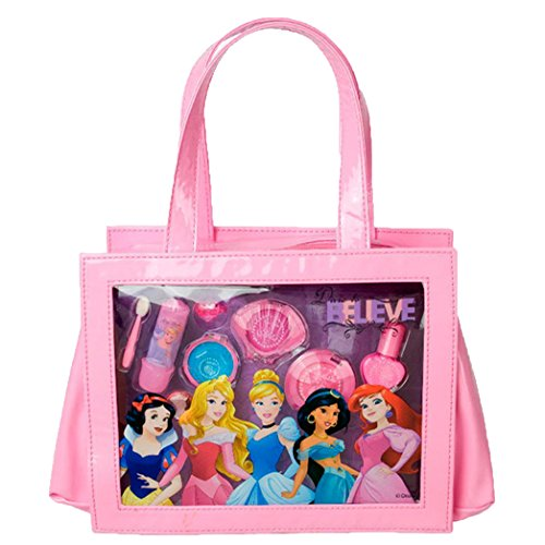 Princesas Disney - Perfect Princess Beauty Tote, bolso de maquillaje (Markwins 9604010)