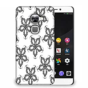 Snoogg Grey Floral Designer Protective Phone Back Case Cover For Samsung Galaxy J1