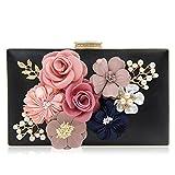 Paradox Women Flower Clutches Evening Handbags Wedding Clutch Purse
