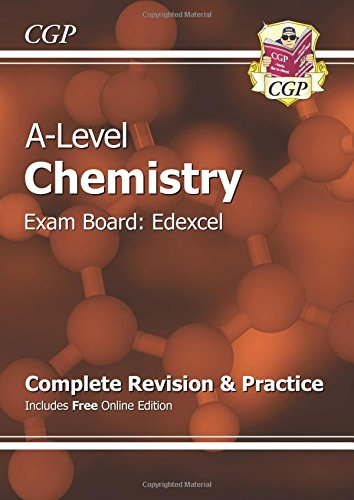 New A-Level Chemistry: Edexcel Year 1 & 2 Complete Revision & Practice with Online Edition (CGP A-Level Chemistry)