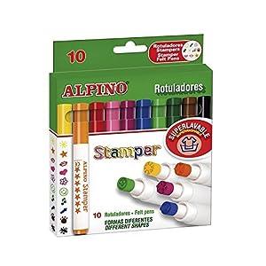Alpino AR000059 – Estuche de 10 rotuladores, colores surtidos