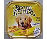 Gran Bonta Pate Con Pollo Para Perros 150g, Monge, Gran Bonta, los Pasteles, las Bolsas, los Perros
