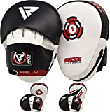 RDX Boxing Hook & Jab Punch Pads MMA Target Focus Punching Mitts Thai Strike Kick Shield