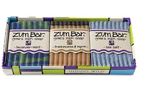 Zum Bar, Goat's Milk Soaps Gift Pack, 3 Bars, 3 oz Each