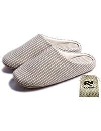 Lijeer Ciabatte Donna Uomo Eleganti Pantofole Interne Casa Feltro Scarpe  Slippers pelose Giapponesi Suola Morbida Inverno 329a1f1328b