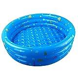 My-Schwimmbad Baby Ball Pool Marine Ball Kombination Home Runde Kinder Indoor Aufblasbare Folding Pool Verdickung Ohne Geruch Größe: 130 * 30cm Blau
