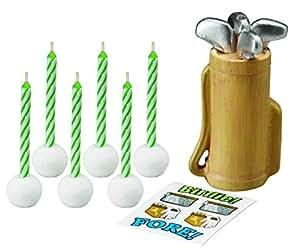 Wilton Golf Set de bougies et décalcomanies