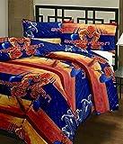 SVT Spider Man cartoon print single bed ...