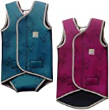Swim Cosy Baby/Toddler Wetsuit Vest with UPF50 - Neoprene Wrap around design for Boys / Girls 0-3 years