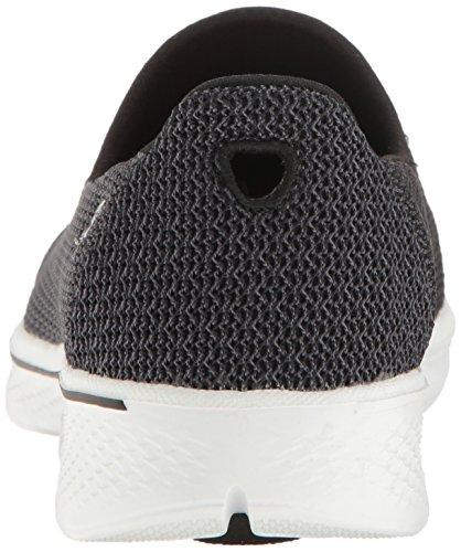 Skechers Go Walk 4, Allenatori Donna Nero (Black/white)