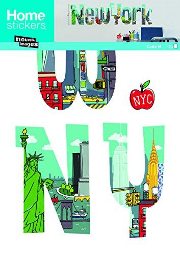 Unbekannt Nouvelles Images host1485New York Comics Wandaufkleber