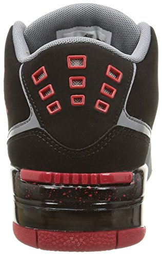 Nike - Jordan Flight 23 Bg - , homme, multicolore multicolore (Black/Gym Red-Cool Grey-White)