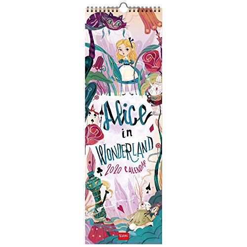2020 - CALENDARIO DA PARETE - 16X49 cm ALICE IN WONDERLAND