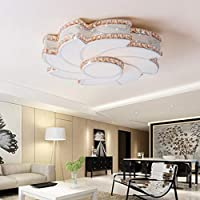 CZZ Gbyzhmh Amber LED Beleuchtung Deckenleuchte Kronleuchter Von Crystal  Chandeliers High Power LED Lampen Moulin Acryl