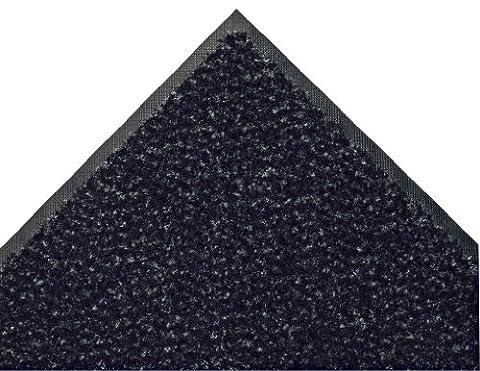 Andersen 110820023Innen Fußmatte, Crunch Nylon Fibber, SBR Rückseite aus Gummi, Länge 3'x 2' Breite, 3/20,3cm Dick, Onyx