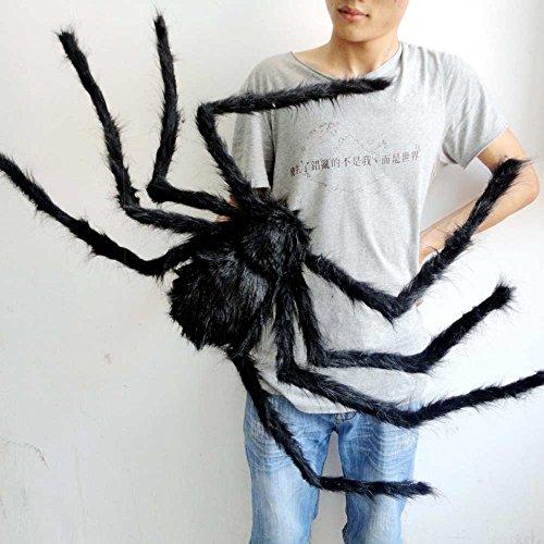 HAPPYQUDA große schwarze spinne