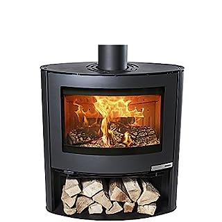 Aduro Burning stove Aduro 15-2 , Steel black, 6,5 kW, Wood magazine, Aduro-tronic