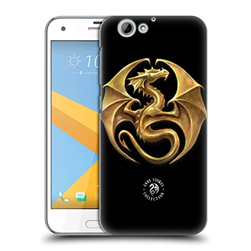 Official Anne Stokes Dragon Medal Fire Tribal Hard Back Case for HTC One A9s