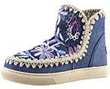 Mou Summer Eskimo Sneaker Denim Flow - Stivali da Donna Vari Colori Size: 39 EU