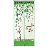 Bluelans Magnet Fliegengitter Tür Insektenschutz 90x210 cm / 100x220 cm, Der Magnetvorhang ist Ideal für die Balkontür, Kellertür, Terrassentür, Kinderleichte Klebemontage Ganz Ohne...