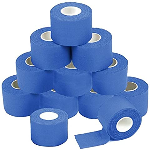 12 x Sport-Tape 3,8 cm x 10 m Farbe: blau