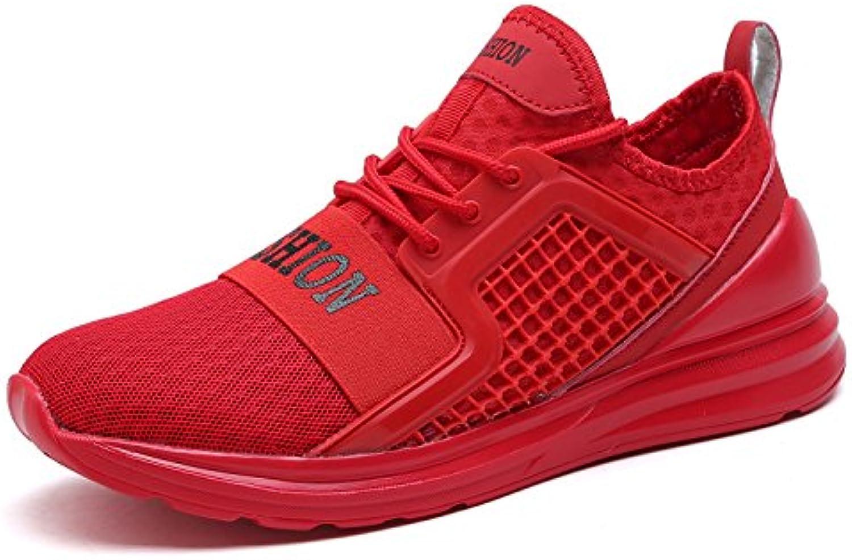 Zapatillas Deporte Hombre Zapatos de Entrenamiento para Hombre Malla Respirable Zapatillas Aptitud Ligero Deportes