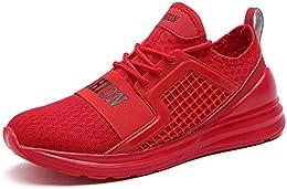 zapatillas casual hombre adidas rojas