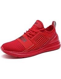 buy online 1588c f4583 Zapatillas Deporte Hombre Mujer Deportivos Running Zapatillas para Correr  Aptitud Ligero Deportes Zapatos para Correr por
