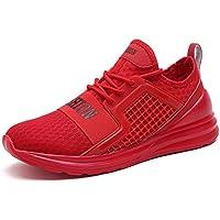 Zapatillas Deporte Hombre Zapatos de Entrenamiento para Hombre Malla Respirable Zapatillas Aptitud Ligero Deportes Zapatos para Correr por VITIKE
