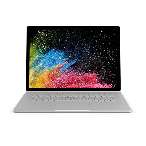 "Microsoft Surface Book 2, 15"" Argent (Core i7, 16Go de RAM, GPU 256Go, Windows 10 Pro) - Calvier AZERTY français"
