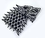 Game of Thrones Haus Stark Direwolf Eisen House Stark Sew auf bestickt Patch
