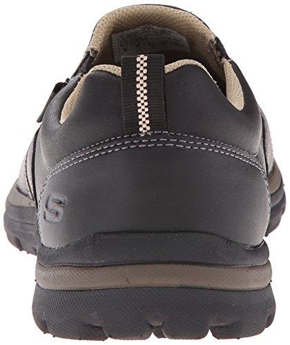 Skechers (SKEES) Superior- Misko, baskets sportives homme BKTN BLACK/TAN