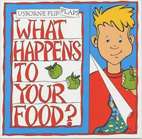 Book What Happens to Your Food? (Flip Flap)