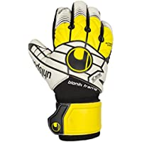 uhlsport ELIMINATOR SUPERSOFT BIONIK Gloves Multi-Coloured schwarz/Gelb/Weiß