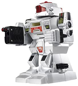 Simba 103576758-Planet Fighter, Disc Shot firebot, Robot