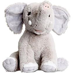 Elefante Peluche - 25cm - kit para realizar crear un oso de peluche, llevar animales de peluche a cosas - sin costura