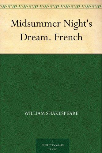 Couverture du livre Midsummer Night's Dream. French