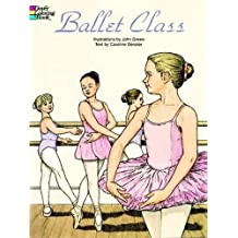 BALLET CLASS. Coloring book