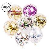 Premium Qualität Latex Confetti Party Balloons Partydekoration für besondere Anlässe