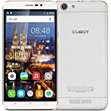 "Cubot Dinosaur - Smartphone libre 4G Lte Android 6.0 (Pantalla 5.5"", Cámara 8.0Mp, 16GB ROM, 3GB RAM, Quad-Core 1.3GHz, Batería de 4150mAh, WiFi, Bluetooth), Blanco"