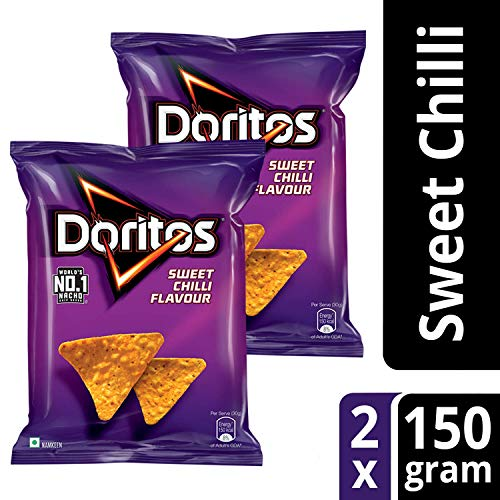Doritos Nachos Combo (Sweet Chilli, 150g, Sweet Chilli, 150g)
