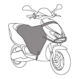 Cubre Piernas Moto Impermeable para Motos Piernas Manta Cubre Piernas Oxford
