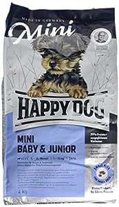 Croquettes pour chiot Happy Dog Supreme Mini Baby Junior 29 Sac 4 kg