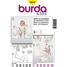 Burda Patrón 9635 Kids Accesorios para bebé