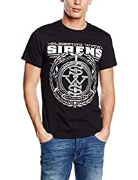 Plastic Head Sleeping With Sirens Crest - T-shirt - Homme