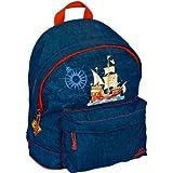 Capt 'n Sharky mochila pequeña, 20 x 25 x 10 cm, modelo # 10979