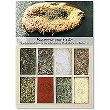 Feuer & Glas Food-Kasten Focaccia con Erbe, Pan sin Levadura Italiano con Hierbas