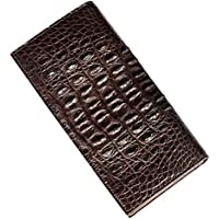 P.KU.VDSL® Vintage Portafoglio in Pelle Uomo Borsa Bifold Vera Pelle