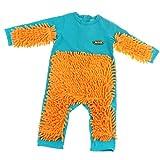 F Fityle Neugeborene Baby Overalls Wischmopp Spielanzug aus Baumwolle Bekleidung - Blau, 80 cm